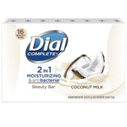 Dial 2 in 1 Coconut Beauty Bar (16 ct.)
