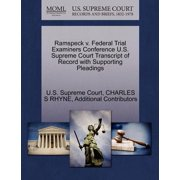 Ramspeck V. Federal Trial Examiners Conference U.S. Supreme Court Transcript of Record with Supporting Pleadings