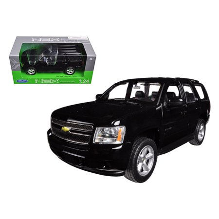 2008 Chevrolet Tahoe Street Version Black 1/24 Diecast Model Car by Welly (Tahoe Model Cars)