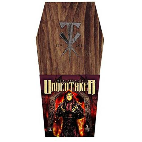 WWE: Undertaker 'The Streak' 21-1 (Coffin Box Set) by WARNER HOME VIDEO