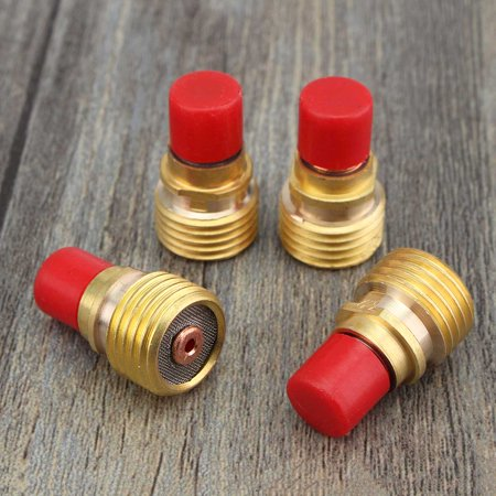 26pcs TIG Welding Stubby Gas Lens #10 Pyrex Cup Kit for Tig WP-17/18/26 Torch - image 3 de 7