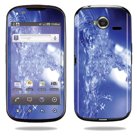 Mightyskins Protective Vinyl Skin Decal Cover for Pantech Burst P9070 Cell Phone At&t wrap sticker skins Water Explosion