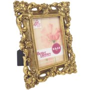 better homes and gardens baroque mini picture frame antique gold finish image 2 of 2 - Mini Photo Frames