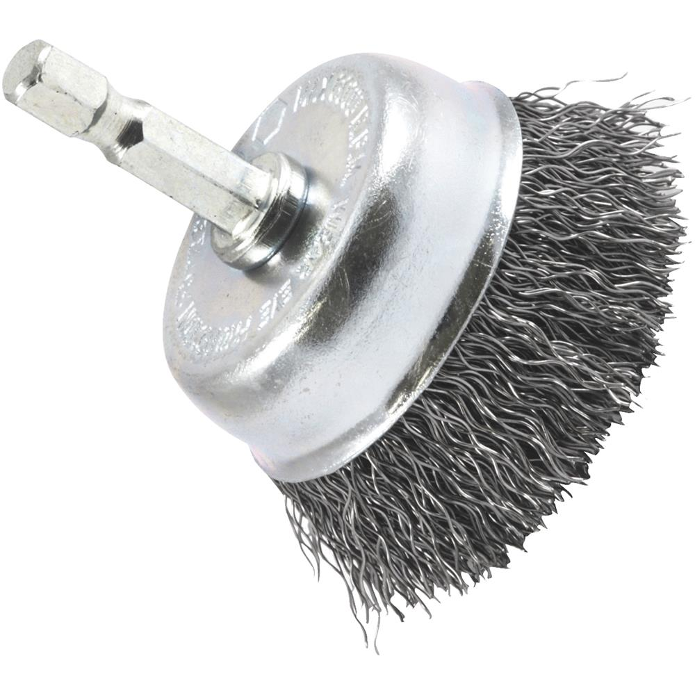 """Forney Industries 2"""" Crimped Cup Brush 72729"""