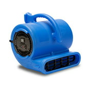 VP-33 1/3 HP Vent Commerical Carpet Dryer Air Mover, Blue