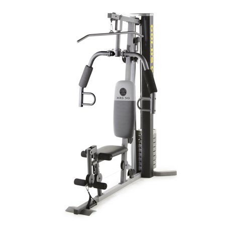 Gold's Gym XRS 50 Home Gym with High and Low Pulley (Golds Gym Gr7000 Pro Series Home Gym)
