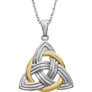 Florian Medal Jewels By Lux 14k White Gold 25mm Hollow St