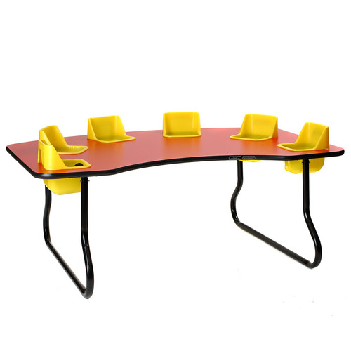 Toddler Tables Kid's 7 Piece Activity Table and Chair Set