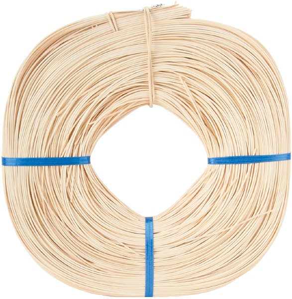 Round Reed #4 2.75mm 1 Pound Coil, Approximately 500'