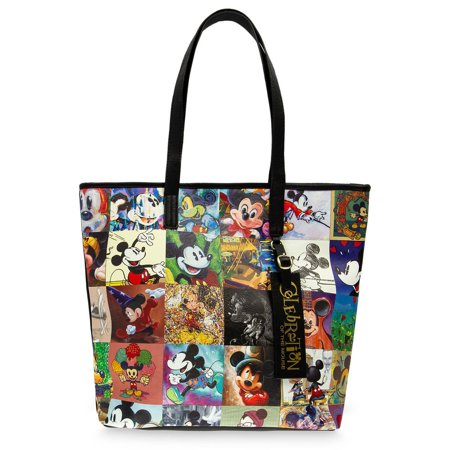 Disney Parks Mickey Mouse Celebration of the Mouse Tote Bag New with - Disney Tote Bags