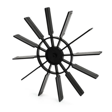 Paddle Module (Unique Bargains Black 12  100mm Dia RC Boat Ship Model Propeller Paddle)