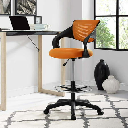 Modway Thrive Mesh Drafting Chair, Multiple Colors