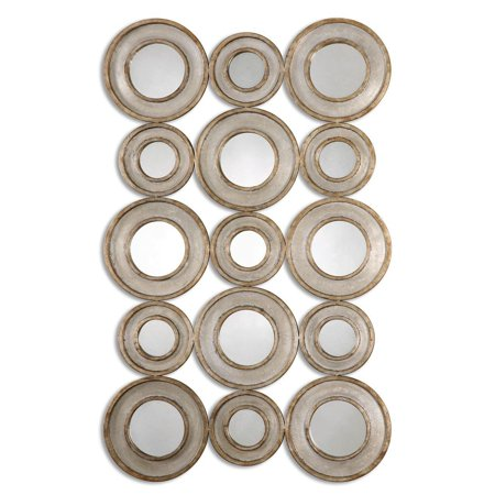 Uttermost Circle (New Product  Uttermost Vobbia Metal Circles Mirror Sold by VaasuHomes )