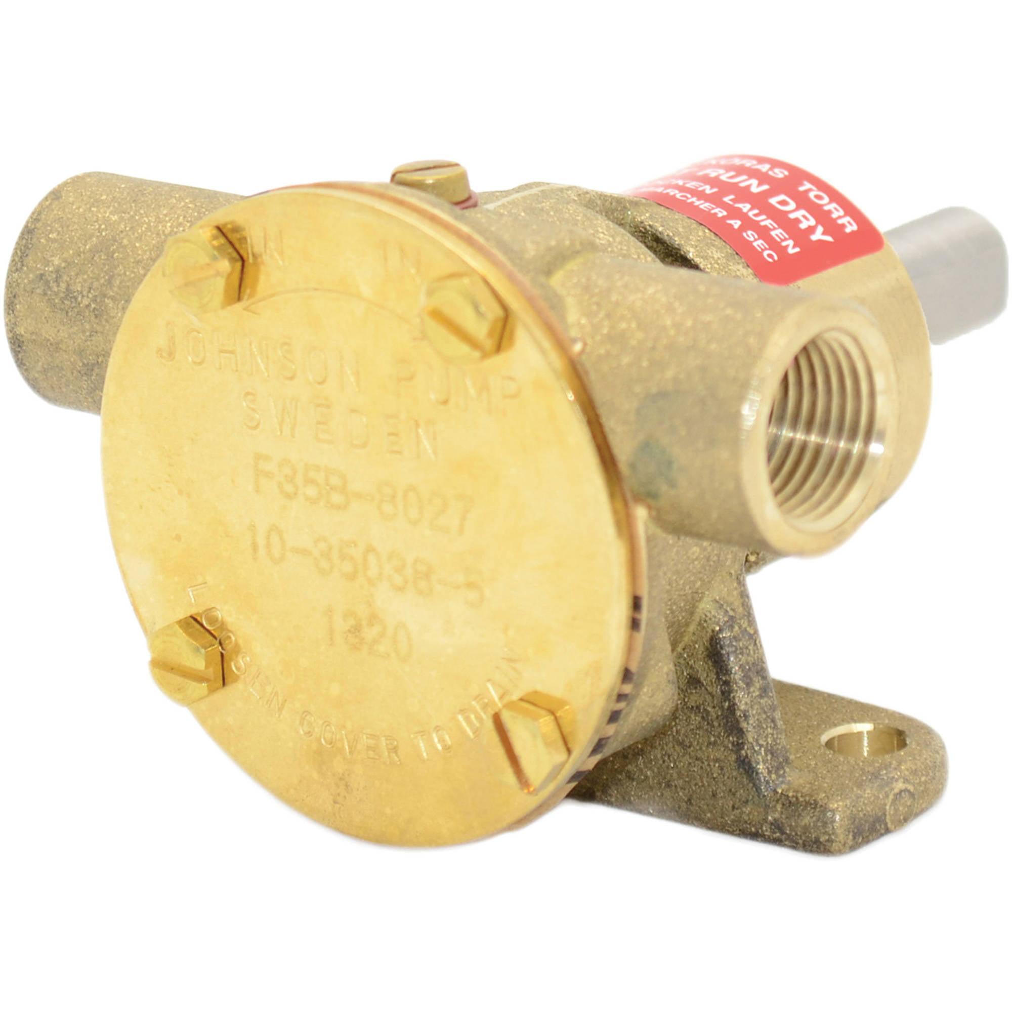 Johnson Pump 10-35038-5 F35B-8027 Impeller Pump, Lip Seal/NPT Port