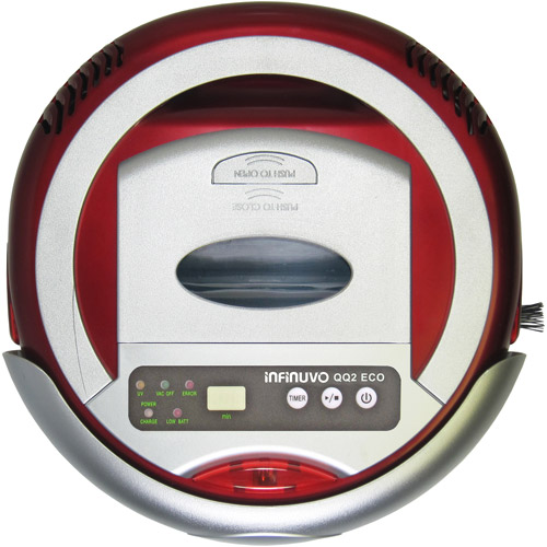 Metapo Infinuvo QQ2 Economy Robotic Vacuum Cleaner, Red