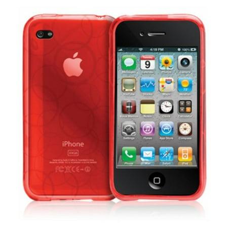Case-Mate Gelli TPU Jelly Case for iPhone 4 - Tomato Circle