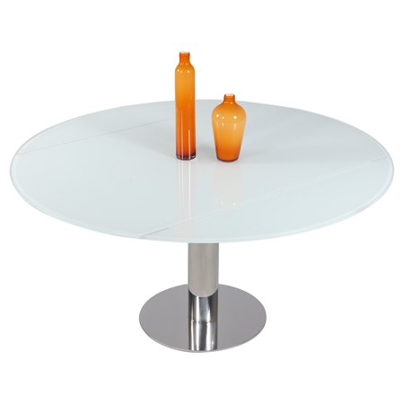 Extendable Glass Dining Table (Chintaly Tami Extendable Dining)