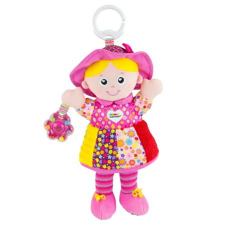 Lamaze Clip & Go My Friend Emily Infant Toy Baby Car Seat Toy (Lamaze Take Along Toy)