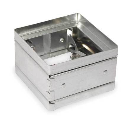 Square Fire Damper,9-3/4 In. W