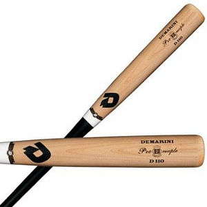 ba2cb57c813 New Demarini D110 Black Pro Maple Composite Wood Bat BBCOR Baseball ...