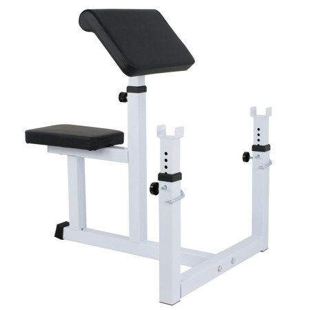 Gizmo Supply Arm Curl Bench Machine seated Commercial Preacher Dumbbell Biceps Home