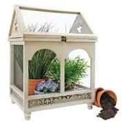 Wooden Wardian Terrarium Plant Case