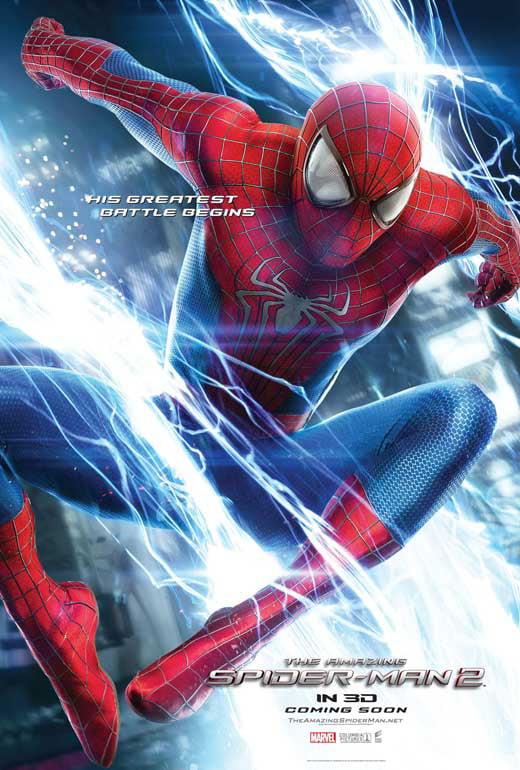 The Amazing Spider Man 2 2014 11x17 Movie Poster Walmart Com Walmart Com