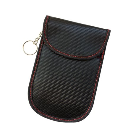 Electromagnetic Shielding Car Key Case Signal Blocking Bag Signal Blocker (Bass Blockers Blocks)