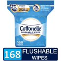 168-Count Cottonelle FreshCare Flushable Wipes