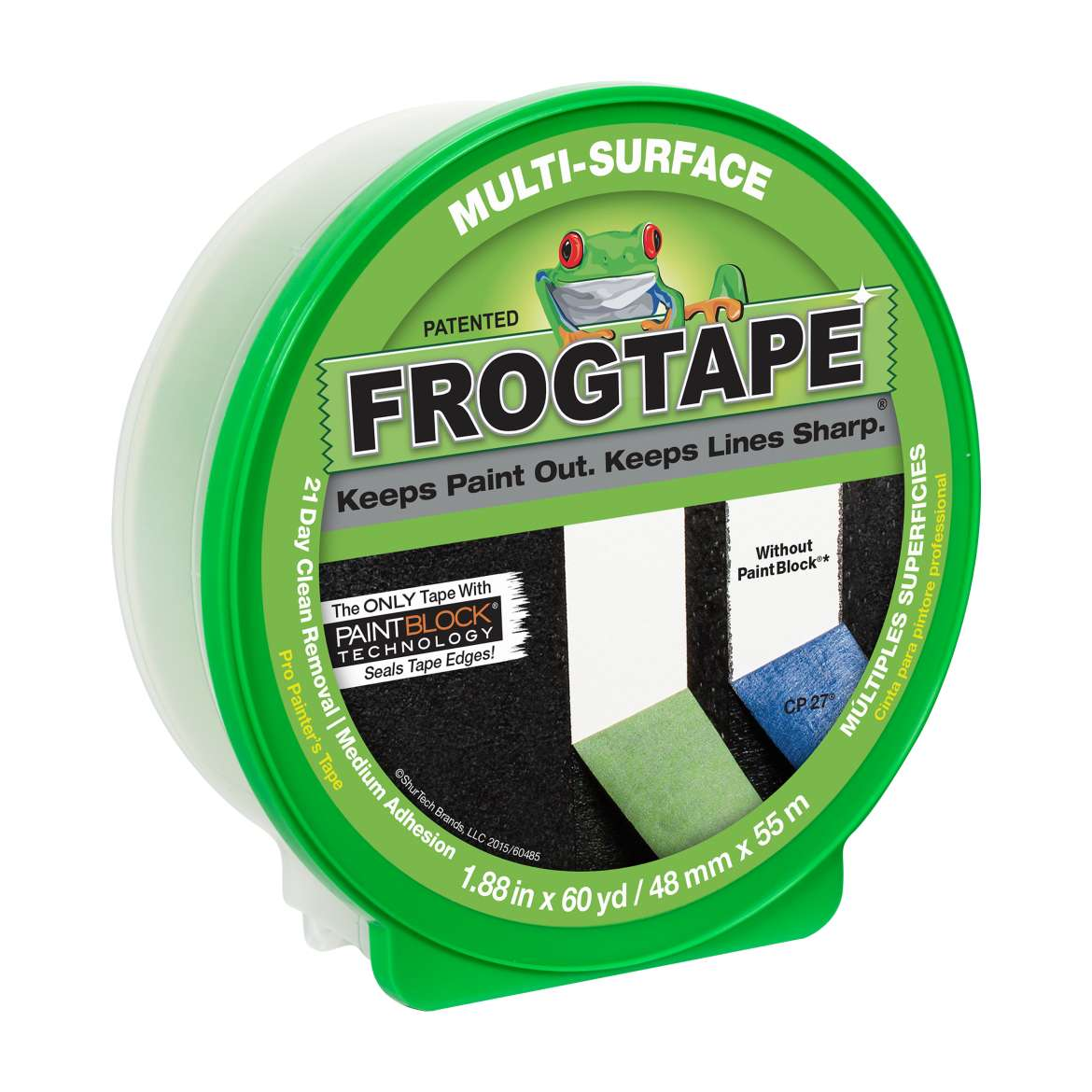 FrogTape Multi-Surface Painter's Tape, 1.88 in. x 60 yds.
