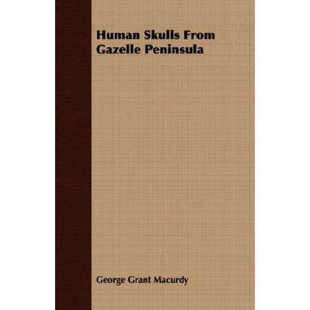 Human Skulls from Gazelle Peninsula