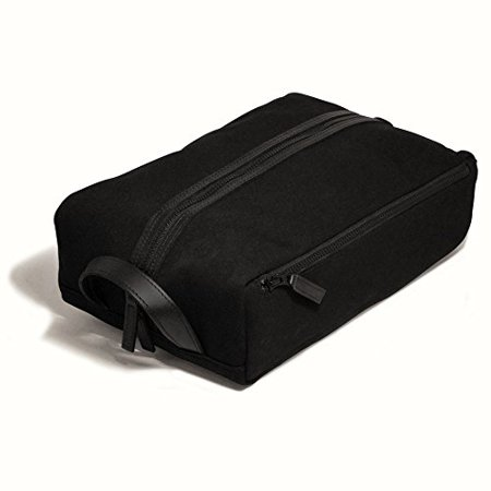 Jack Georges Canvas Shoe Bag Black (Best Shoes To Wear In Italy)