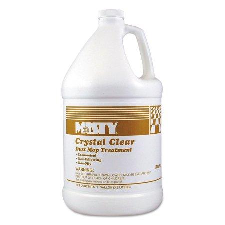 Dust Bottle (Misty Crystal Clear Dust Mop Treatment, Slightly Fruity Scent, 1 gal Bottle)