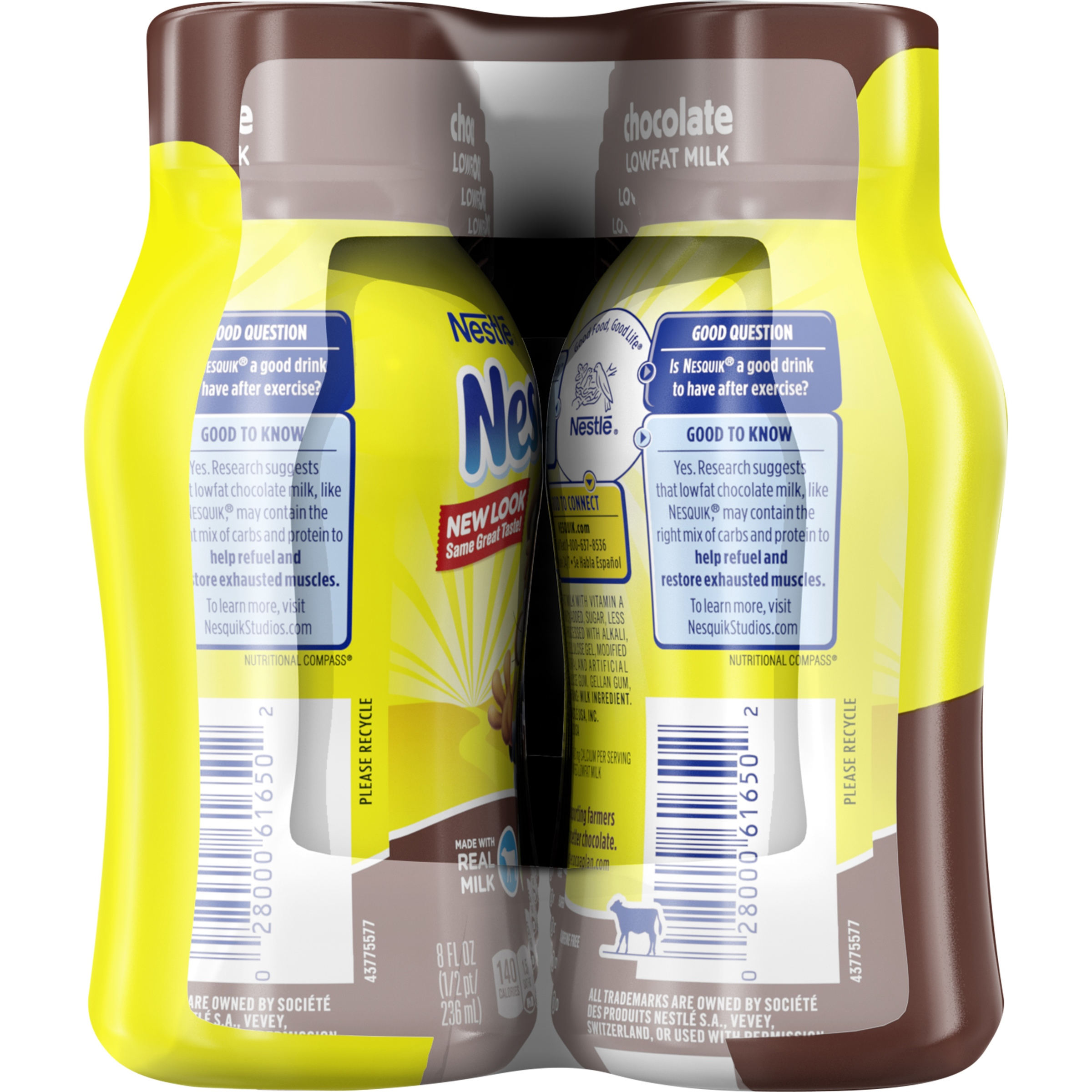 NESTLE NESQUIK Chocolate Flavored Low Fat Milk 10-8 fl. oz ...
