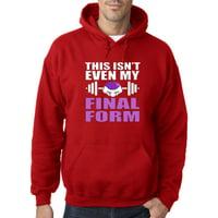 351 - Hoodie This Isn't Even My Final Form Frieza Dragon Ball Z Sweatshirt
