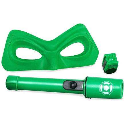 Green Lantern Costume Kit Mask & Flashlight (Green Lantern Muscle Costume)