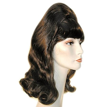 Beehive Pageboy Wig, Champ Blonde, One Size
