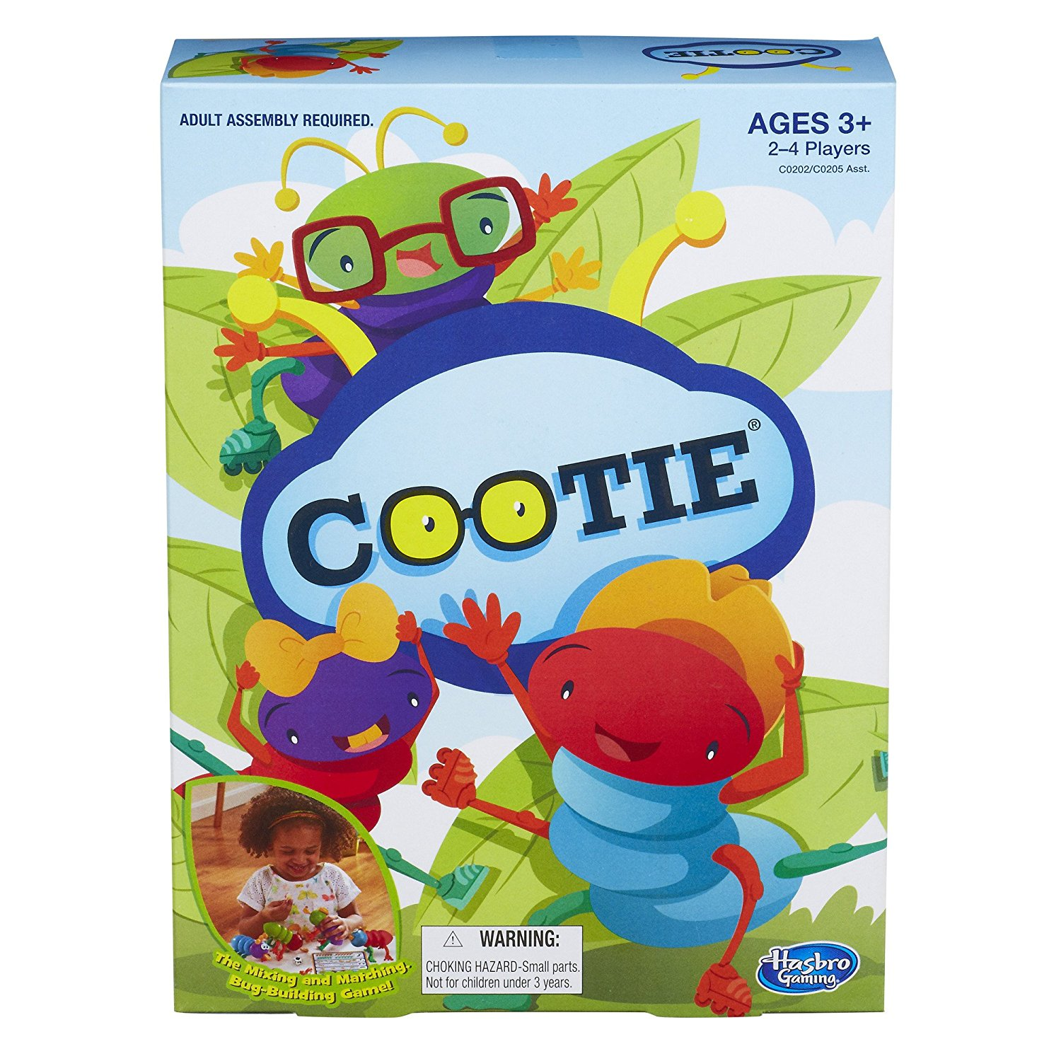 Cootie Game By Hasbro Ship from US by