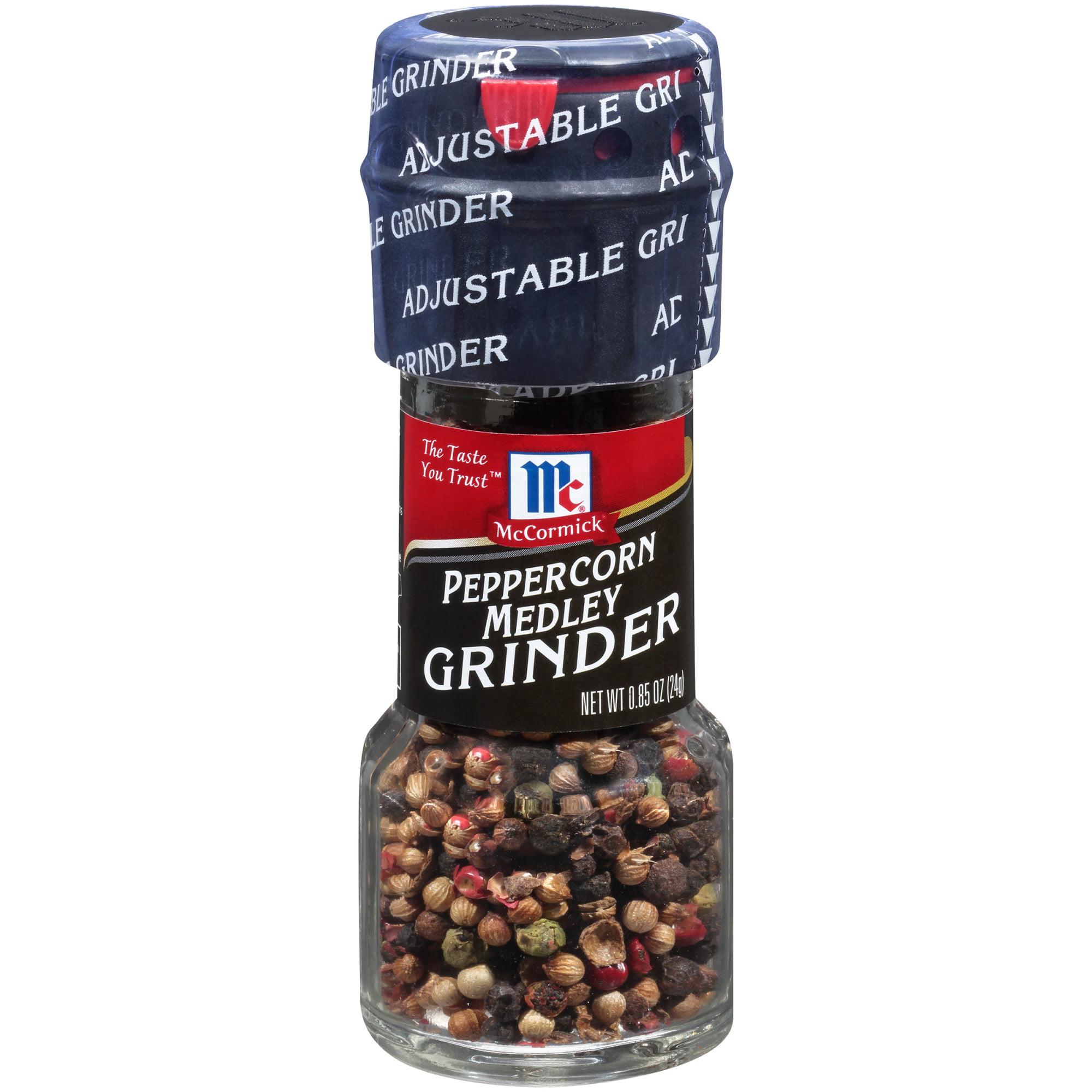 (3 Pack) McCormick Peppercorn Medley Grinder, 0.85 oz