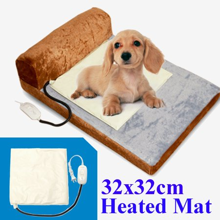 32 Electric Warmer Heated Pet Dog Cat Puppy Bed Pad Mats Dog Cat Puppy Heating Waterproof
