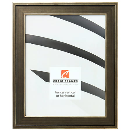 Craig Frames Metropolis, Antique Pewter Picture Frame, 24 x 36 Inch ()