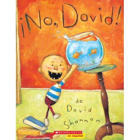 ¡no, David! (No, David!) (Paperback)