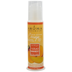 Omega X Mango Butter Aromatherapy Whipped Cream Tube 5 Oz - A Complex Blend Of Naturally Fragrant Aromatherapy, Vitamin,
