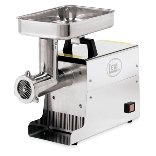 LEM Products Incorporated #8 Stainless Steel Electric Meat Grinder, .35 HP