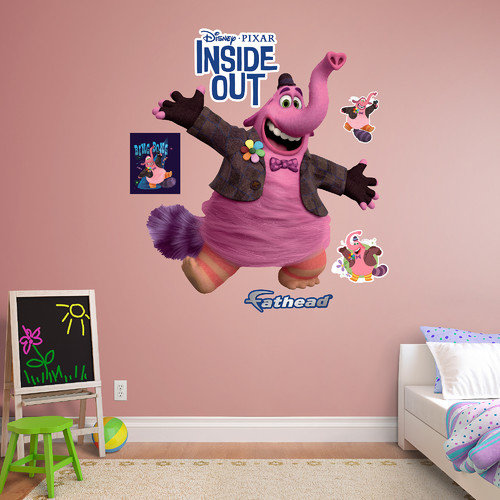 Fathead Disney Bing Bong Peel and Stick Wall Decal