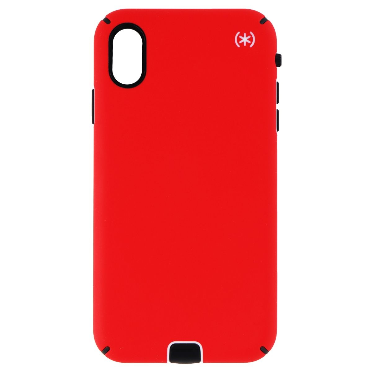 lowest price f6f99 21a30 Speck Presidio Sport Series Case for Apple iPhone XS Max - Matte Red /  Black (Refurbished)
