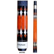Stryker BH3760 Pool Cue Stick Nat w/ Linen Wrap + Quick-Release Joint+ Joint Protectors