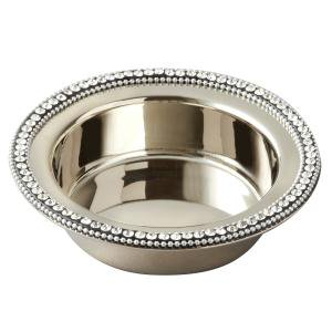 Silver Wine Coaster (Wine Coaster with Chatons)
