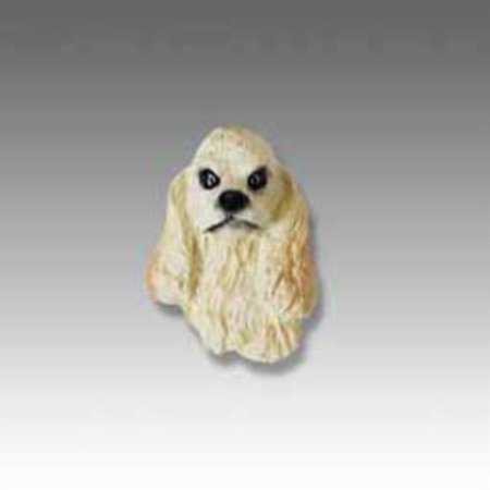 No.Dh15C Cocker Spaniel Blonde Tiny One Head