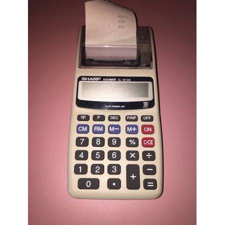 Sharp elsimate vintage EL-1611H calculator adding machine